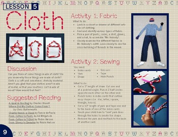 Cloth Lesson Plan