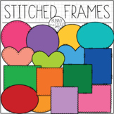 Cloth Patch Frames by Bunny On A Cloud
