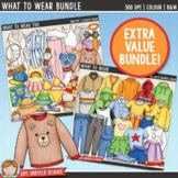 Clothes Clip Art Bundle