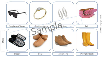 Clothes Description, Material and Patterns