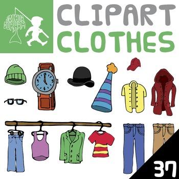 Clothes - Digital ClipArt