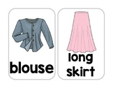 Clothes Flashcards!