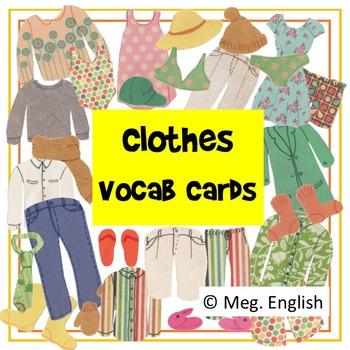 Clothes Flashcards (British English)