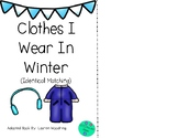 Clothes I Wear In The Winter