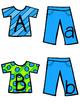 Clothes Letter Match