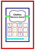 Clothes Memory Game