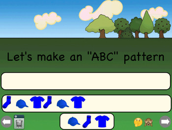 Clothes Patterning: AB & ABC