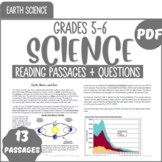 Earth Science Reading {Bundle} 5th & 6th Grade Science - Informational Text  PDF