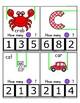 Clothes Pin Clip Cards - Measurement - By the Alphabet - Focus Letter C