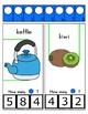 Clothes Pin Clip Cards - Measurement - By the Alphabet - Focus Letter K