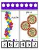 Clothes Pin Clip Cards - Measurement - By the Alphabet - Focus Letter P