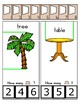 Clothes Pin Clip Cards - Measurement - By the Alphabet - Focus Letter T