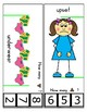 Clothes Pin Clip Cards - Measurement - By the Alphabet - Focus Letter U