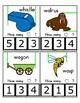 Clothes Pin Clip Cards - Measurement - By the Alphabet - Focus Letter W