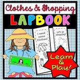Clothes Shopping Lapbook