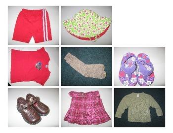 Clothes Sort Winter vs Summer