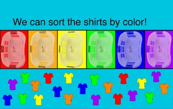 Clothes - Sorting by Color, Type, and Size