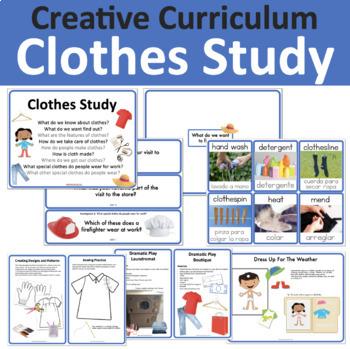 Clothes Study Creative Curriculum
