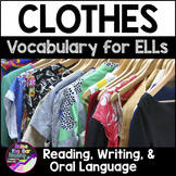 Clothes Vocabulary Activities for Beginning ELLs