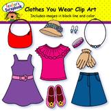 Clothes You Wear Clip Art