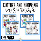 Clothes and Shopping in Spanish Bundle - La ropa y las compras