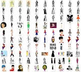 Clothes and fashion image collection Over 600 clip art png