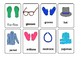Clothes and things we wear flashcards (UK version)