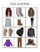Clothes by Weather File Folders