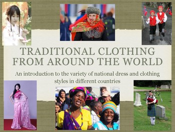 Clothes from around the world