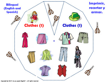 Clothes in English