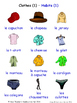 Clothes in French Word searches / Wordsearches