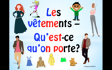 Clothes in French and Color Adjectives - A Complete Guide.