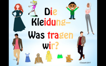 Clothes in German and Color Adjectives - A Complete Guide.