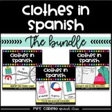 Clothes in Spanish Bundle - La Ropa