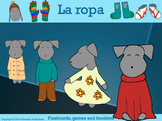 Clothes in Spanish: Flashcards, Games and Booklets with Pepper
