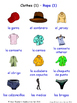 Clothes in Spanish Word searches / Wordsearches