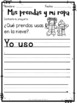 Clothes in Spanish Worksheets - La Ropa
