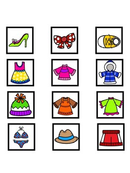 Clothes vs. Animals Category Sorting