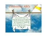 Clothesline ABCs