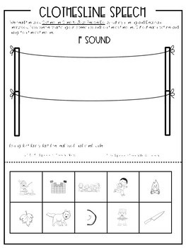 Clothesline Clues to Jobs People Do: Speech and Language Book Companion