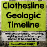 Clothesline Geologic Timeline (No scissors, no glue, and no ticker-tape)