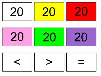 Clothesline Number Games 0-20