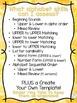 Clothespin Alphabet Assessment Strips (Over 20 assessment options!)