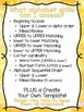 Clothespin Alphabet Assessment Strips (Over 20 assessment
