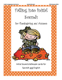 Bilingual Clothespin Clipcards for Autumn & Thanksgiving