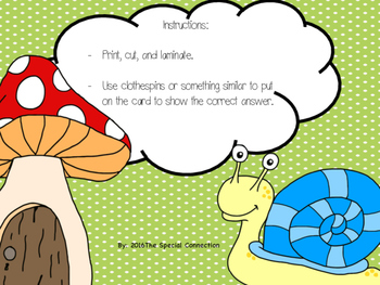 Math Task Cards: Greater Than/Less Than Spring Edition