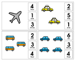 Clothespin Counting- Transportation to 20