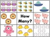 Kindergarten Math and Literacy Clothespin Clip Centers