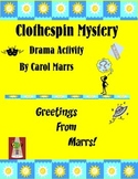 Drama Game-Clothespin Mystery