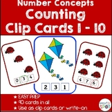 Number Concepts 1-10 Task Cards